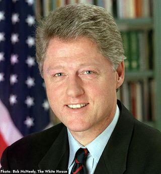 Bill Clinton_official photo_Bob McNeely